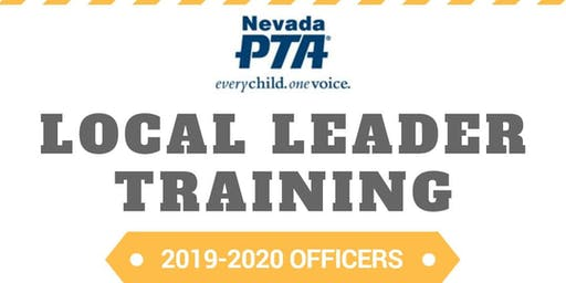 Southern Nevada Local Leader Training September 2019