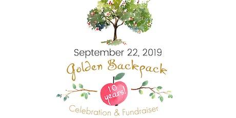Golden Backpack 10-Year Celebration + Fundraiser tickets