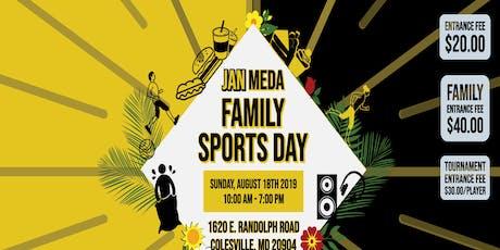 Jan Meda Family Sport Day tickets