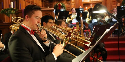 FREE brass/percussion holiday concert | JustinRudd.com/concert