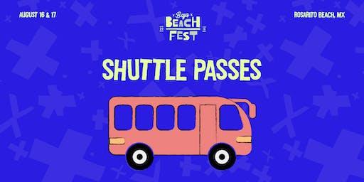 Baja Beach Fest 2019 Shuttle Passes