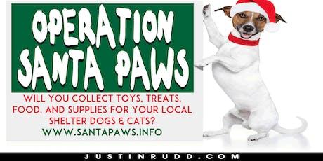 Operation Santa Paws | JustinRudd.com/santapaws tickets