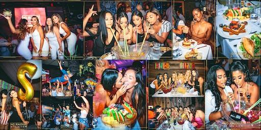 No Jealousy Sunday Party Brunch - Pink Miami Brunch Theme