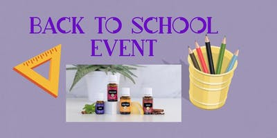 Back to school Essential oil event