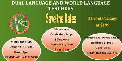 Professional Development for Language Teachers, Oct 2019