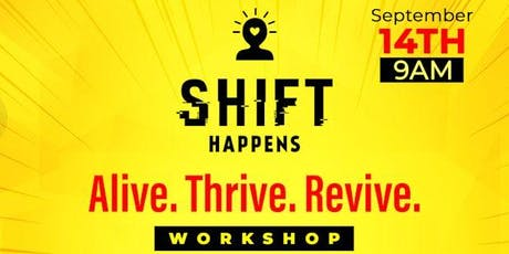 Shift Happens Workshop  tickets