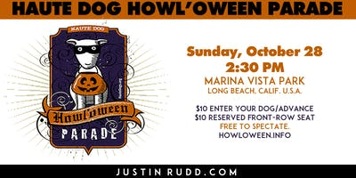 Haute Dog Howl'oween Parade   JustinRudd.com/howloween