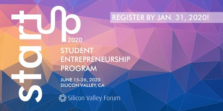 Silicon Valley StartUP 2020 tickets