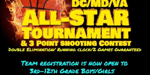 All-Star Basketball Tourney DC/MD/Va