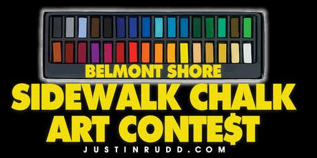 Belmont Shore Sidewalk Chalk Art Contest | JustinRudd.com/chalk tickets