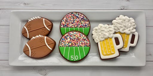 Football Cookie Decorating Party - Dickson
