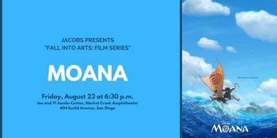 Fall Into Arts Film Series: MOANA!