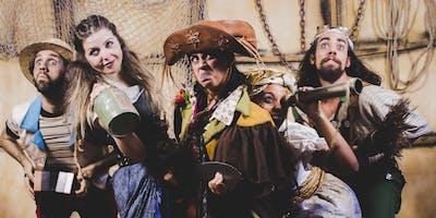 "Desconto! Espetáculo infantil ""Vida de Pirata"" no Teatro Viradalata"