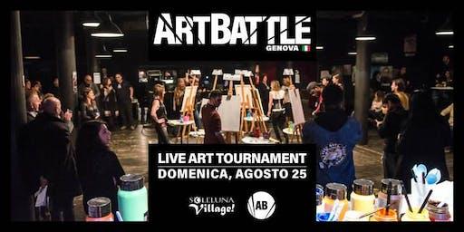 Art Battle Genova - Albissola Marina (SV) - 25 agosto, 2019