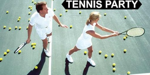 Long Island Singles Tennis Party - Outdoors All Ages/Beginners