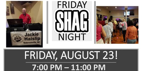 Shag Night with DJ Jackie Haislip tickets