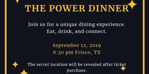 Mochas and Mimosas Supper Club: The Power Dinner