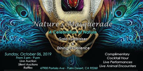 Nature's Masquerade - A Celebration of Nature tickets