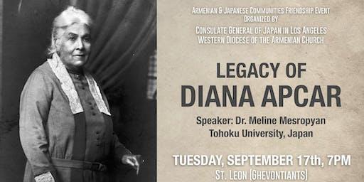 Legacy of Diana Apcar