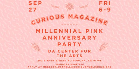 "CURIOUS Magazine Vol.2 Issue No.1 ""Millennial Pink"" Anniversary Release tickets"