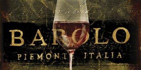 Barolo Luxury Dinner tickets
