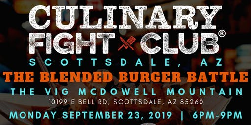 Culinary Fight Club - ARIZONA: The Blended Burger Battle