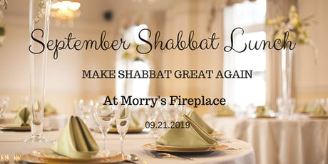 September Shabbat Lunch MSGA - AISHLIT Fundraising Edition tickets