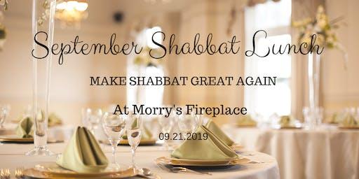 September Shabbat Lunch MSGA