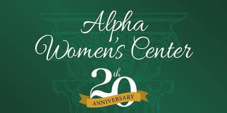 "Alpha Women's Center ""In This For Life"" Gala tickets"