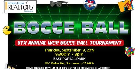 8th ANNUAL W.C.R. BOCCE BALL TOURNAMENT tickets