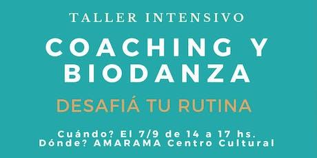 Biodanza y coaching intensivo entradas