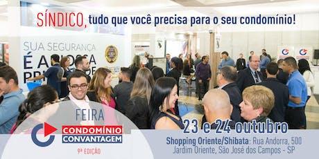 9ª Feira Condomínio Convantagem - São José dos Campos ingressos