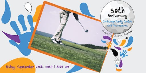 50th Anniversary Golf Tournament | Exchange Family Center