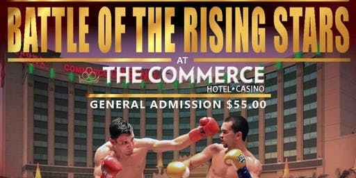 Battle of the Rising Stars! Live Professional Boxing