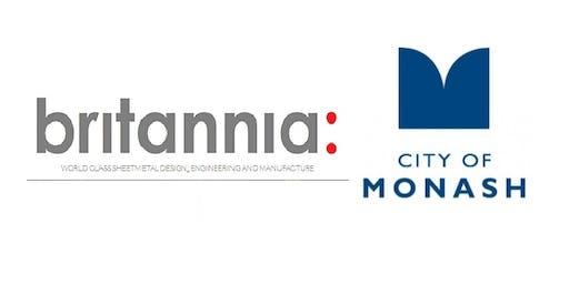 Monash Council Industry Insight Site Tour - Britannia