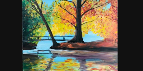 Autumn Paint and Sip tickets