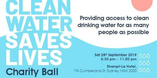Clean Water Saves Lives Charity Gala Ball