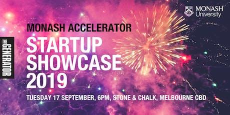 Monash Accelerator Startup Showcase 2019 tickets