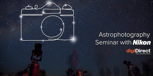 Astrophotography Seminar with Nikon - Perth