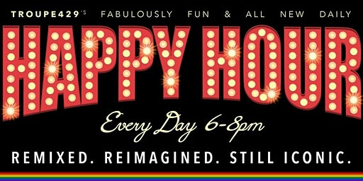 Happy Hour ALL DAY Sundays ★ at Troupe429 Bar // Norwalk, CT