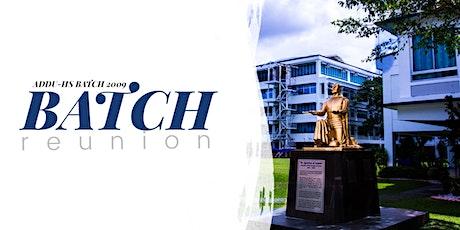 AdDU Batch 2009 10-year Reunion tickets
