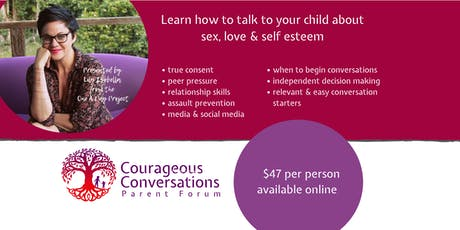 SYDNEY  - Courageous Conversations Parent Forum tickets