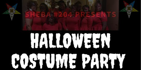 Sheba #204 Halloween Costume Party! tickets