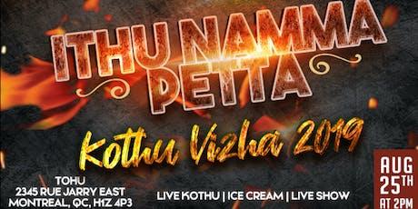 Kothu Vizha 2019 tickets