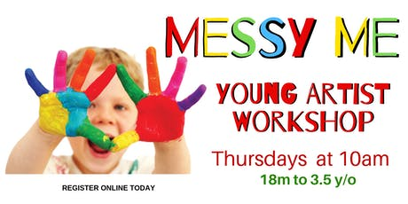 Messy Me - Arts & Crafts Workshop tickets