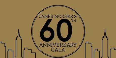 James Mosher's Baseball 60th Anniversary Gala tickets