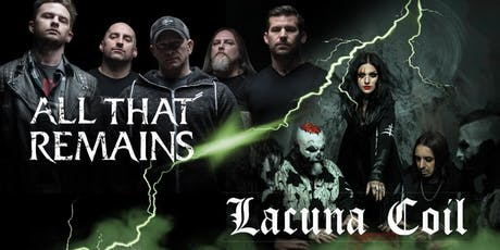All That Remains & Lacuna Coil tickets