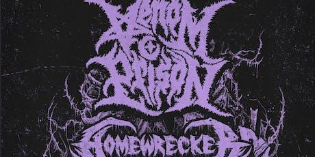 Venom Prison, Homewrecker tickets