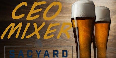 CEO Space Entrepreneur Quarterly Mixer - September 9th 6:00pm Sacramento tickets