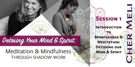 Introduction to Mindfulness & Meditation: Detoxing our Mind & Spirit (Session1 of 3)  tickets